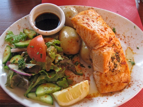 Fisch beim Ernährungsplan