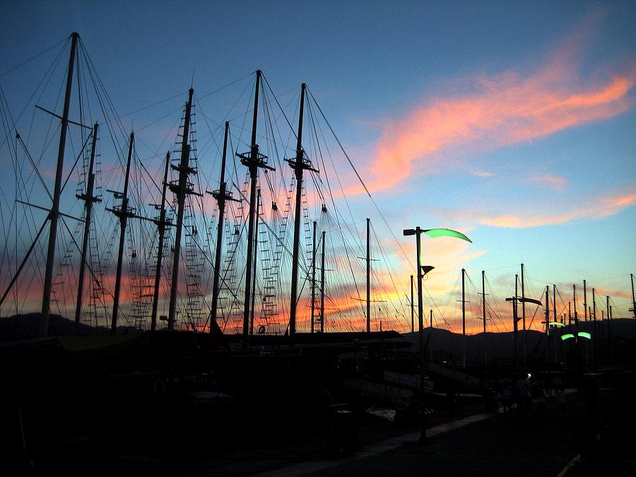 Die Marina von Marmaris