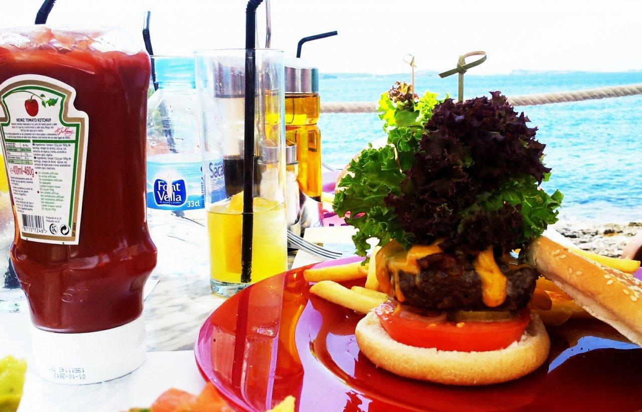 Ibizenkischer Hamburger